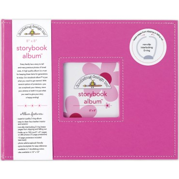 Bubblegum Storybook Album 8&quot;X8&quot; DBSBA8-2734