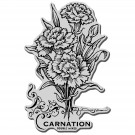 Carnation Stampendous Cling Rubber Stamp CRP186