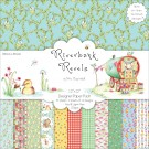 "12 Designs/2 Each Riverbank Revels Paper Pack 12""X12"" 24 Sheets HCDP013"