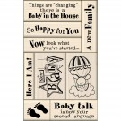 Baby Inkadinkado Card Making Mounted Stamp Set 9/Pig I6010117