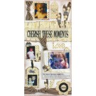 "10""X20"" Cherish These Moments Canvas Wall Kit LC7"