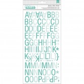 "Goodness/Aqua Ombre Sundrifter Chip Thickers Alpha Stickers 5.5""X11"" 2/Sheets SDTH3-31261"