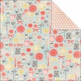 "Domestic Paper Cottage Double-Sided Cardstock 12""X12"" PAP-12-3778"