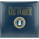 "Air Force Postbound Scrapbook 12""X12"" K530485"