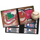 "Cleveland Indians MLB Ticket Album 8-1/4""X8-3/4"" MLB-TA-94389"