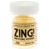 Butter Zing! Opaque Embossing Powder 1 Oz ZOE-27138
