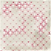 "Stitched Hearts A Christmas Story Heavyweight Cardstock 12""X12"" 918006-6"